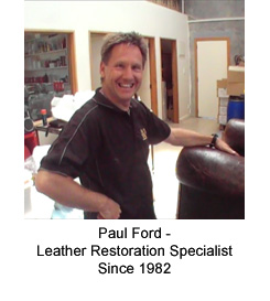 Leather Specialist Paul Ford