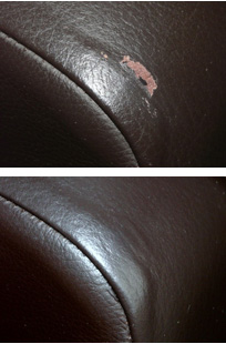 scuff chair repaired